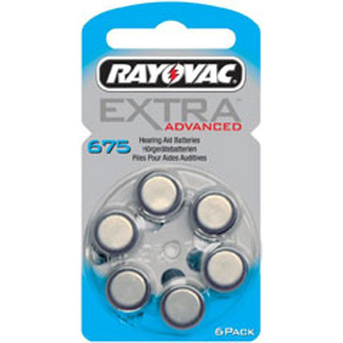 Rayovac Hearing Aid Battery 675